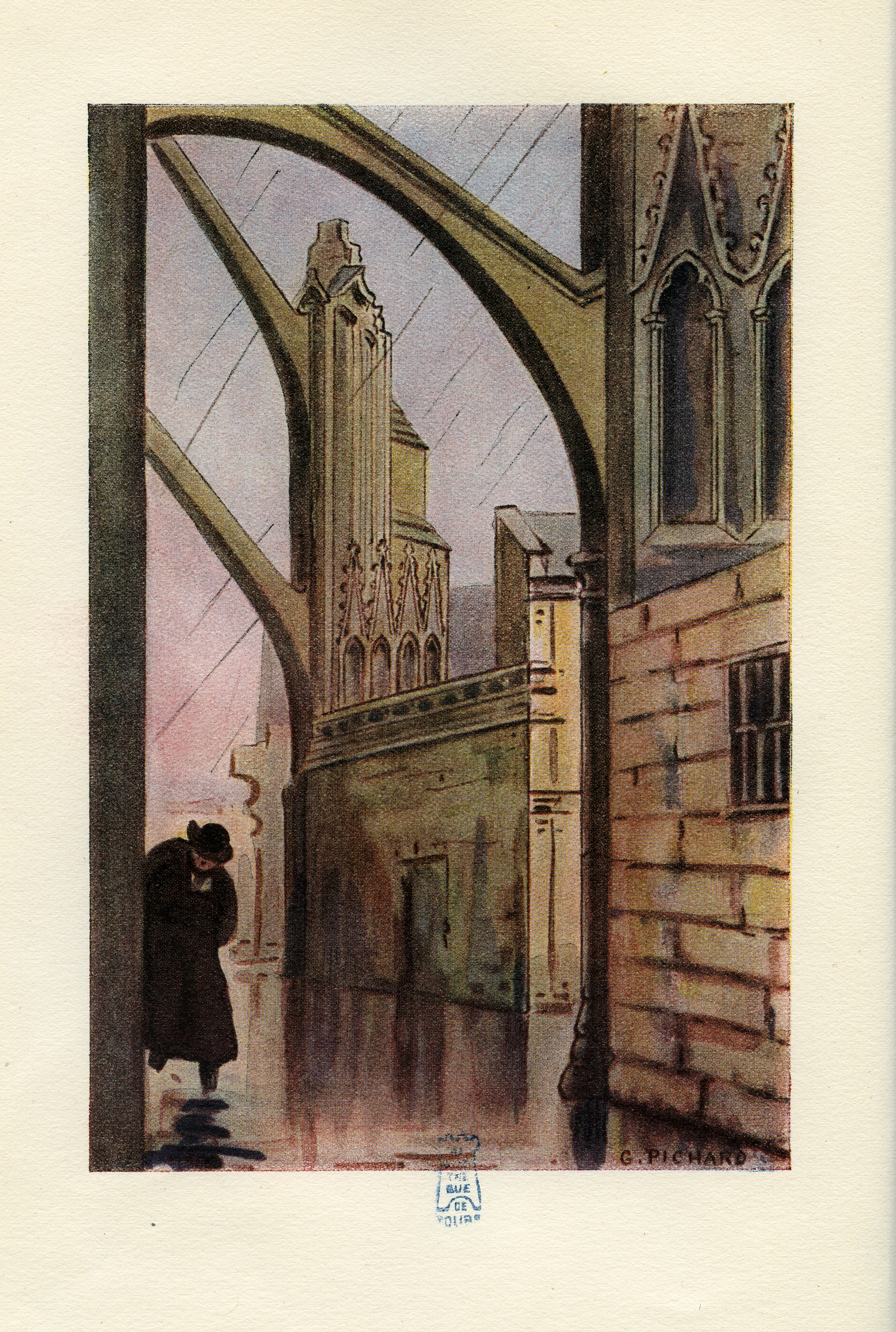 Le Curé de Tours, 1947, illustration de Georges Pichard