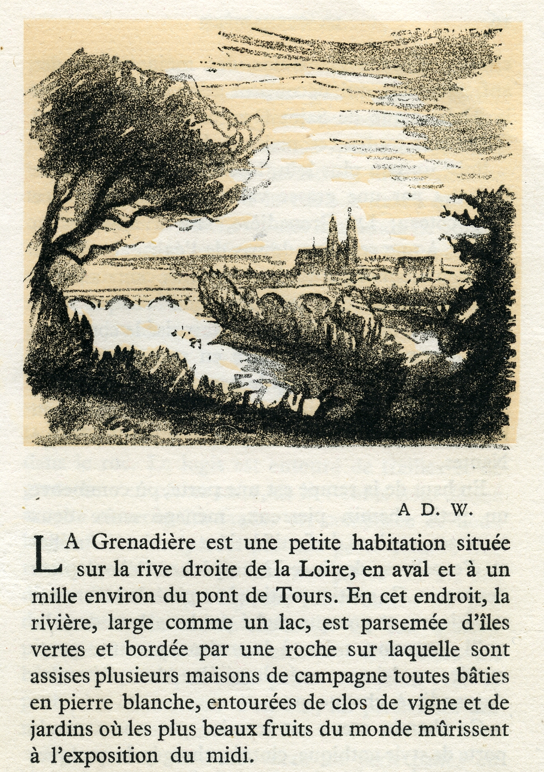 La Grenadière, 1946, illustration de Picart le Doux